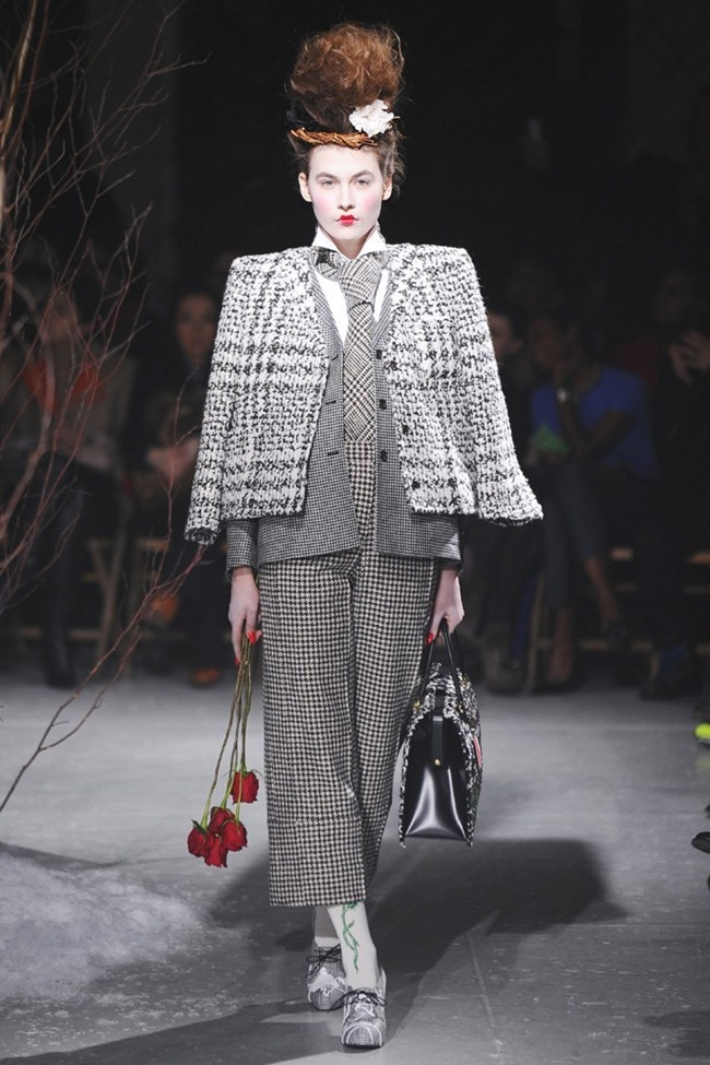 NEW YORK FASHION WEEK- Thom Browne Beckham Fall 2013. www.imageamplified.com, Image Amplified (12)