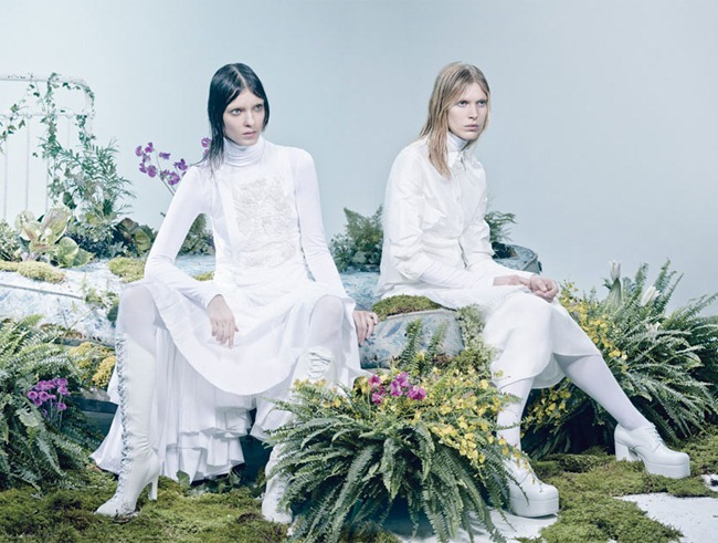 W MAGAZINE- Kati Nescher, Iselin Steiro & Juliana Schurig in The Whites of Spring by Craig McDean. Edward Enninful, March 2013, www.imageamplified.com, Image Amplified (6)