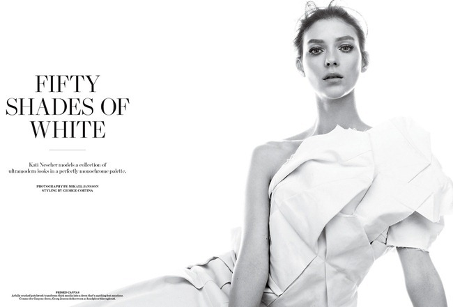 WSJ MAGAZINE- Kati Nescher in Fifty Shades Of White by Mikael Jansson. George Cortina, March 2013, www.imageamplified.com, Image Amplified (2)