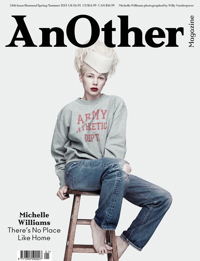 ANOTHER MAGAZINE- Michelle Williams by Willy Vanderperre. Olivier Rizzo, Spring 2013, www.imageamplified.com, Image Amplified