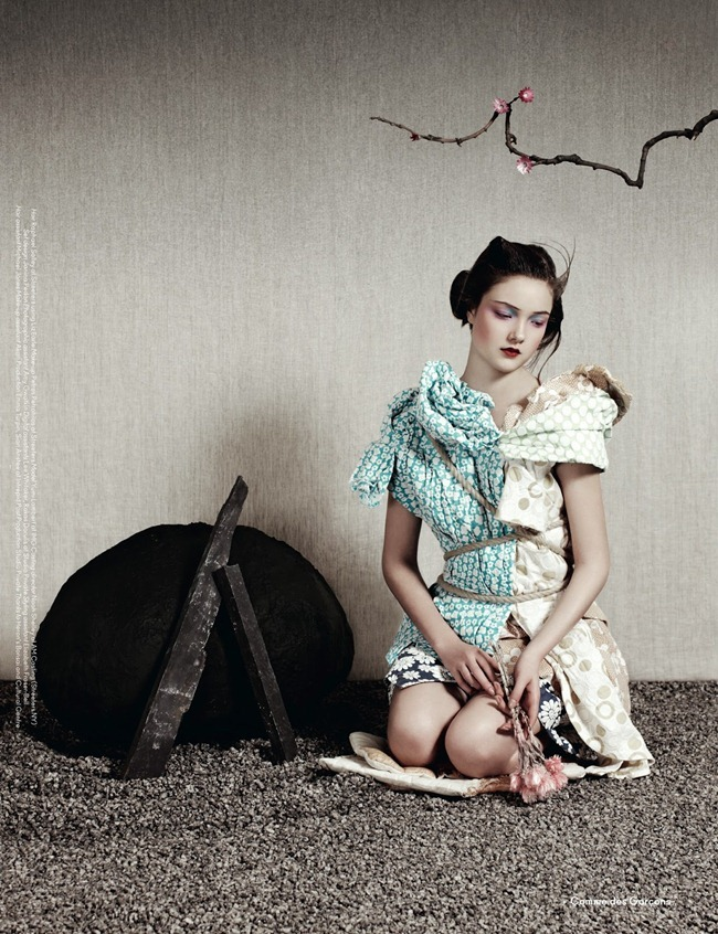 ANOTHER MAGAZINE- Yumi Lambert by Ben Toms. Robbie Spencer, Spring 2013, www.imageamplified.com, Image Amplified (13)