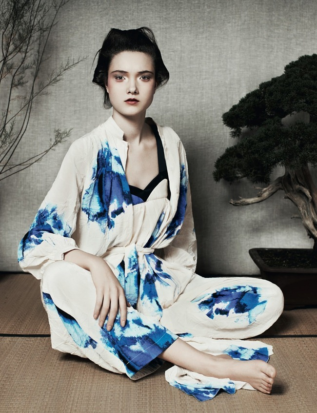 ANOTHER MAGAZINE- Yumi Lambert by Ben Toms. Robbie Spencer, Spring 2013, www.imageamplified.com, Image Amplified (1)
