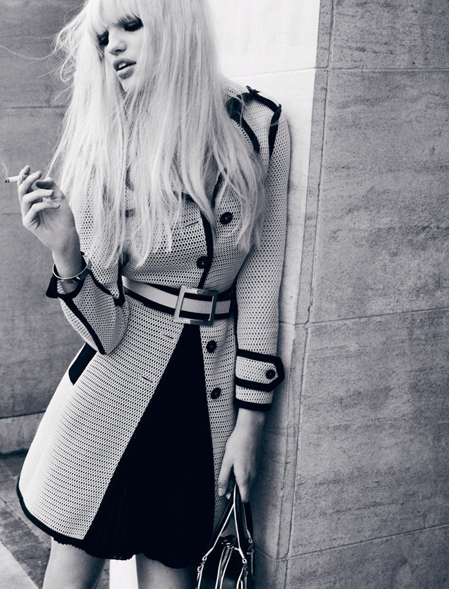 DANSK MAGAZINE- Daphne Groenveld in Black N' White by Hasse Nielsen. Darcy Backlar, Spring 2013, www.imageamplified.com, Image Amplified (7)