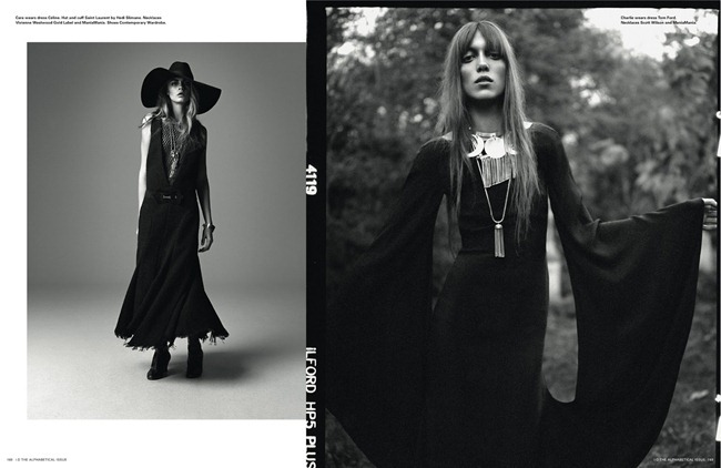 I-D MAGAZINE- Cara Delevigne, Codie Young, Magda Laguinge, Louise Parker & Charlie Bredal in Witches by Richard Bush. Sarah Richardson, Spring 2013, www.imageamplified.com, Image Amplified (2)