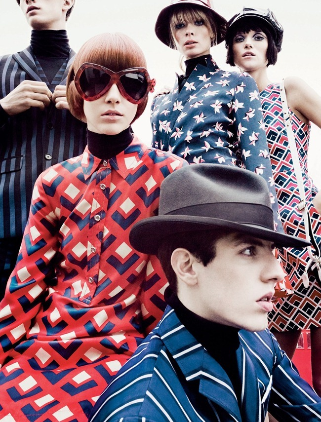 W MAGAZINE- Alana Zimmer, Julia Stegner & Kasia Struss in All Tomorrow's Parties by Tom Munro. Giovanna Battaglia, March 2013, www.imageamplified.com, Image Amplified (6)