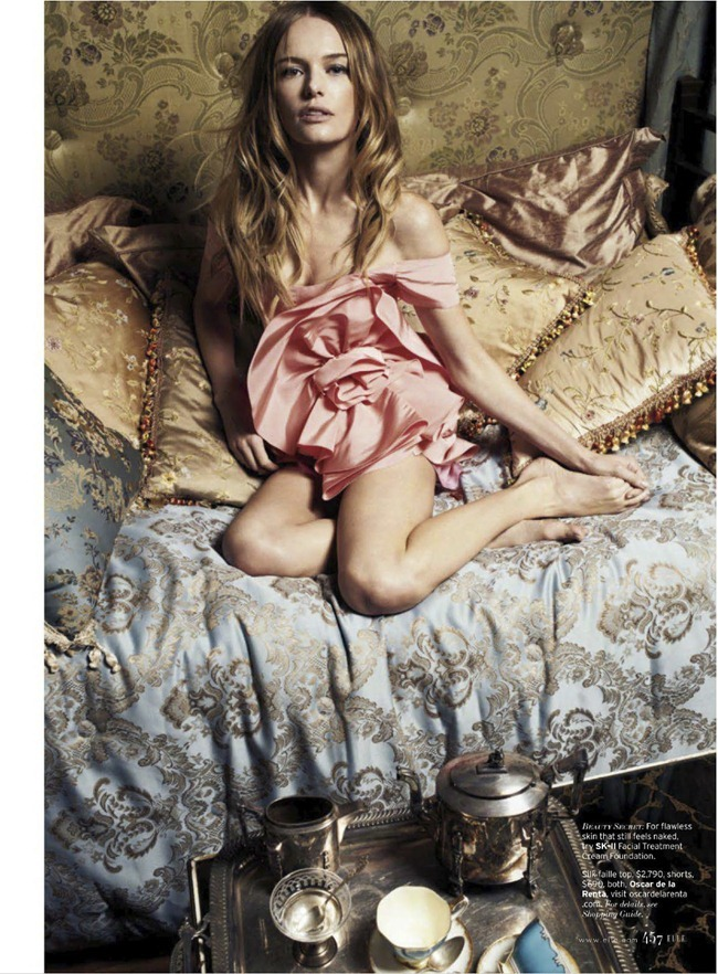 ELLE MAGAZINE- Kate Bosworth in Bedtime Stories by Cedric Buchet. Sabina Schreder, March 2013, www.imageamplified.com, Image Amplified (1)