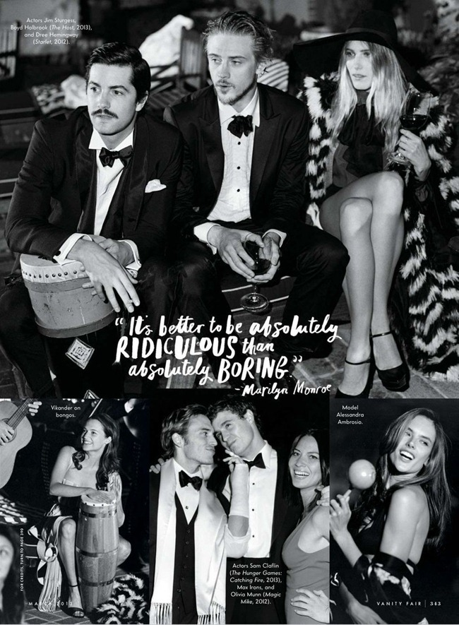 VANITY FAIR MAGAZINE- Bruce Weber's Adventures in Hollywood by Bruce Weber. March 2013, www.imageamplified.com, Image Amplified (28)