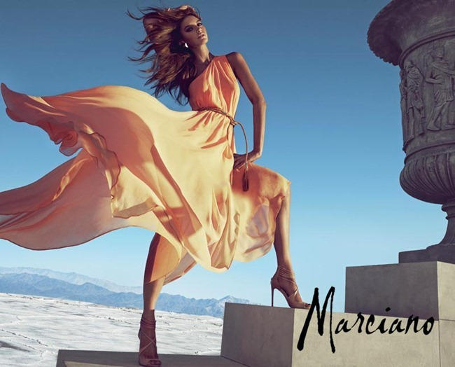 CAMPAIGN- Letizia Zuloga, Nadine Wolbeisser & Eugen Bauder for Marciano Spring 2013 by Hunter & Gatti. www.iamgeamplified.com, Image Amplified (6)