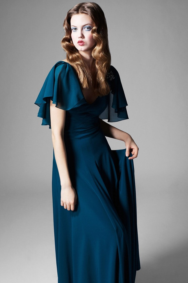 COLLECTION- Lindsey Wixson for Zac by Zac Posen Fall 2013. www.imageamplified.com, Image Amplified (21)