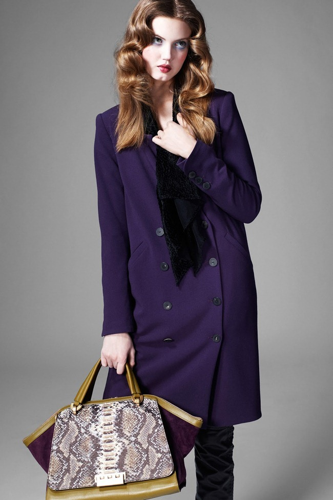 COLLECTION- Lindsey Wixson for Zac by Zac Posen Fall 2013. www.imageamplified.com, Image Amplified (1)