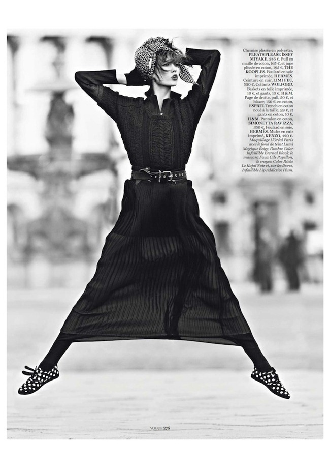 VOGUE PARIS- Karlie Klos in Street Dance by Lachlan Bailey. Geraldine Saglio, March 2013, www.imagegeamplified.com, Image Amplified (6)