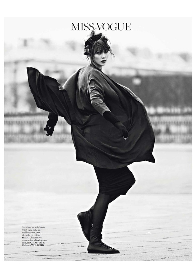 VOGUE PARIS- Karlie Klos in Street Dance by Lachlan Bailey. Geraldine Saglio, March 2013, www.imagegeamplified.com, Image Amplified (2)