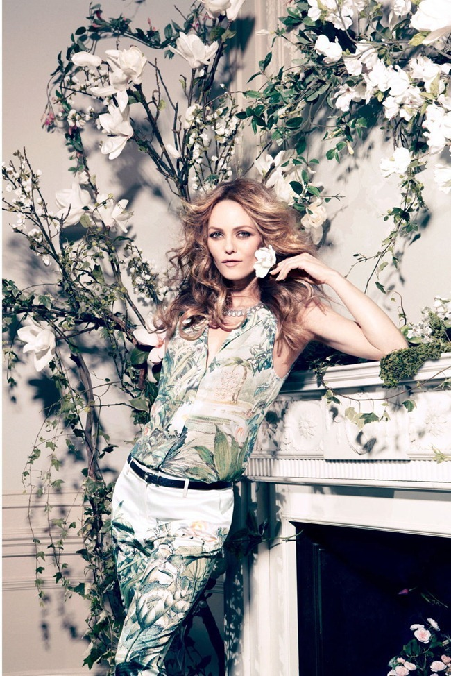 CAMPAIGN- Vanessa Paradis for H&M Concious Collection Spring 2013 by Camilla Akrans. www.imageamplified.com, Image Amplified (9)