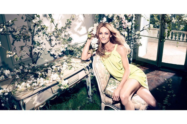CAMPAIGN- Vanessa Paradis for H&M Concious Collection Spring 2013 by Camilla Akrans. www.imageamplified.com, Image Amplified (5)