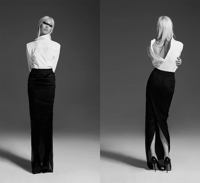 CR FASHION BOOK- Soo Joo in 1 Girl, 1 Shirt, 7 Looks by Max von Gumppenberg & Patrick Bienert. Carine Roitfeld, Spring 2013, www.imageamplified.com, Image Amplified (1)