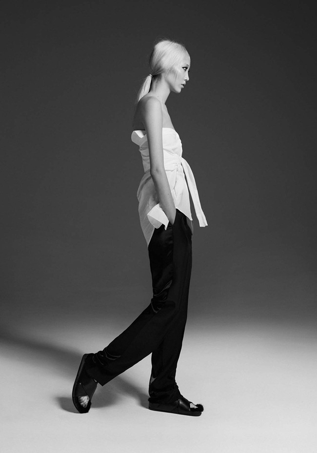 CR FASHION BOOK- Soo Joo in 1 Girl, 1 Shirt, 7 Looks by Max von Gumppenberg & Patrick Bienert. Carine Roitfeld, Spring 2013, www.imageamplified.com, Image Amplified (2)