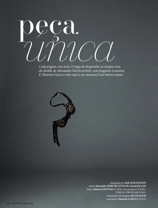 L'OFFICIEL BRASIL- Thairine Garcia in Peca Unica by Bob Wolfenson. Alexandre Herchcovitch, March 2013, www.imageamplified.com, Image Amplified (1)