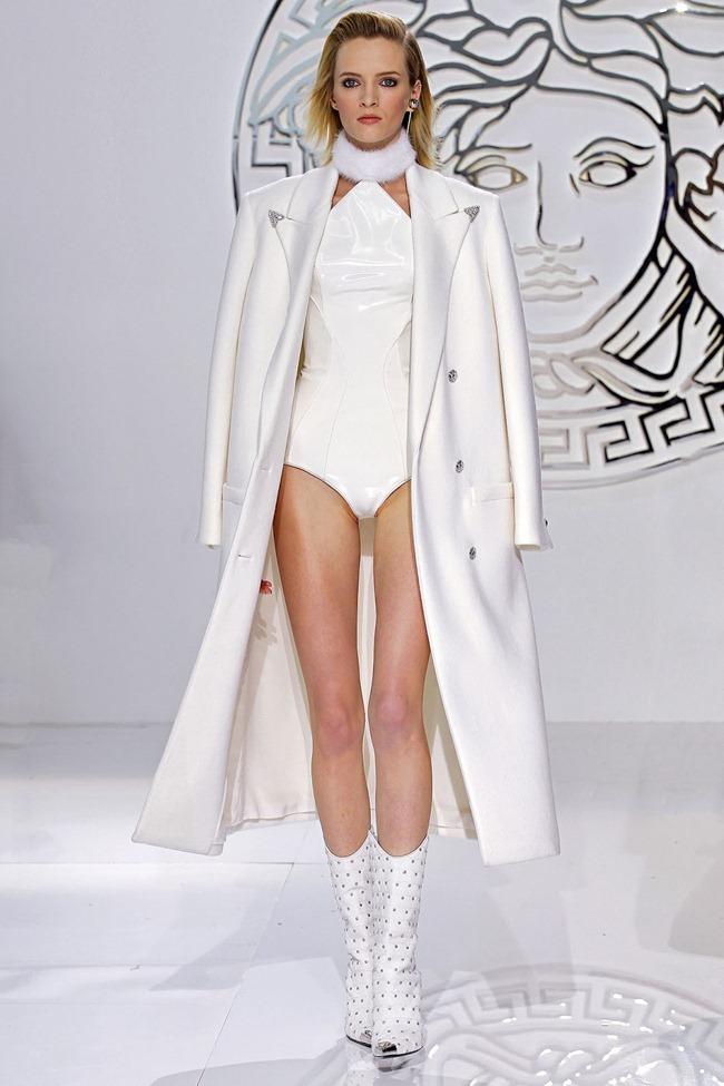 MILAN FASHION WEEK- Versace Fall 2013. www.imageamplified.com, Image Amplified