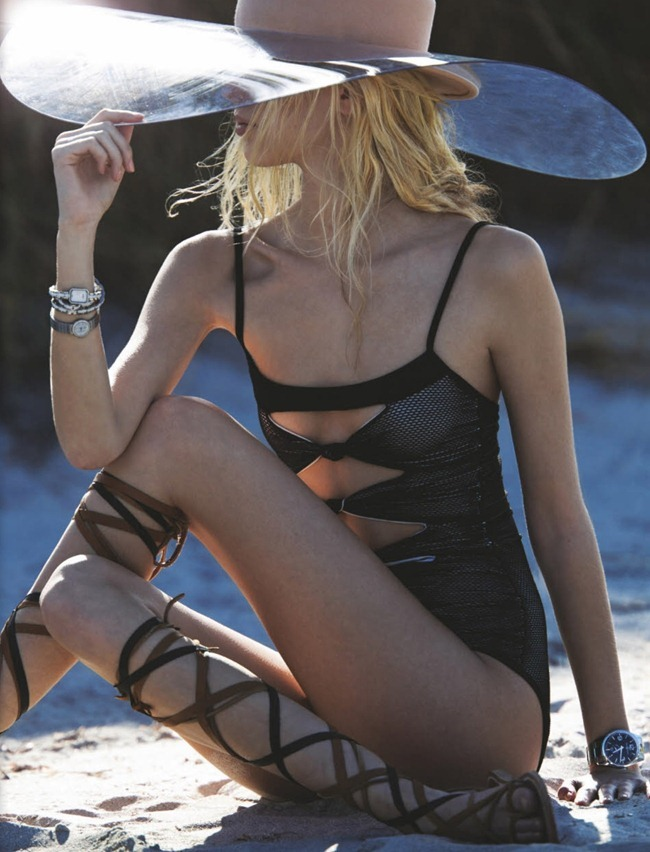 NUMERO MAGAZINE- Juliana Schurig in Harbour Island by Hans Feurer. Spela Lenarcic, March 2013, www.imageamplified.com, Image Amplified (4)