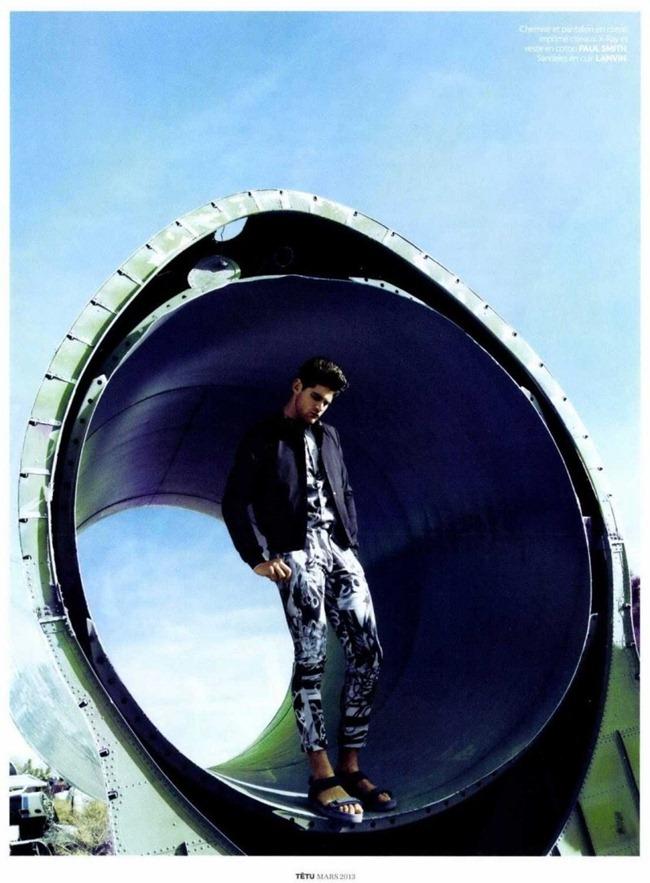 TETU MAGAZINE- Ryan Bertroche in Boy Metal Jacket by Dean Isidro. Nicolas Klam, March 2013, www.imageamplified.com, Image Amplified (6)