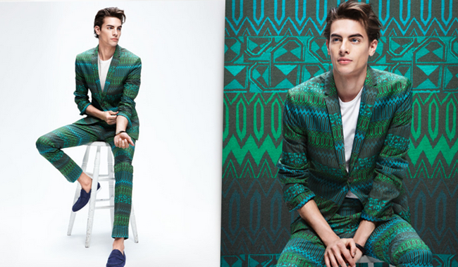 CAMPAIGN- Russell Giardana in Patterns IN Play for H&M Spring 2013. www.imageamplified.com, Image Amplified (3)
