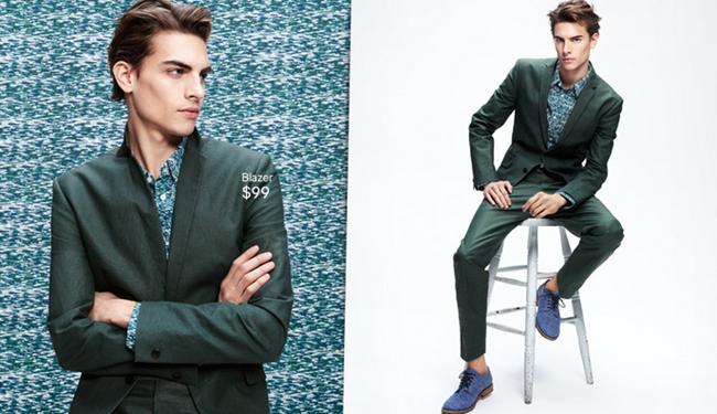 CAMPAIGN- Russell Giardana in Patterns IN Play for H&M Spring 2013. www.imageamplified.com, Image Amplified (2)