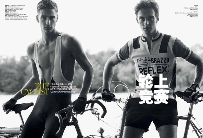 GQ CHINA- The Cyclist by John Balsom & Haidee Findlay. www.imageamplified.com, Image Amplified