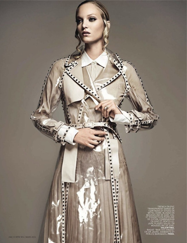 L'OFFICIEL PARIS- Theres Alexandersson in Pluie D'ete by Jonathan Segade. Alexandra Elbim, March 2013, www.imageamplified.com, image Amplified (4)