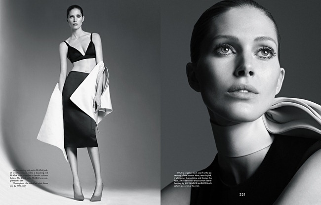 THE GENTLEWOMAN- Iselin Steiro in New Lady by Karim Sadli, Spring 2013, www.imageamplified.com, Image Amplified (7)