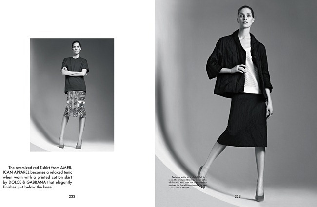 THE GENTLEWOMAN- Iselin Steiro in New Lady by Karim Sadli, Spring 2013, www.imageamplified.com, Image Amplified