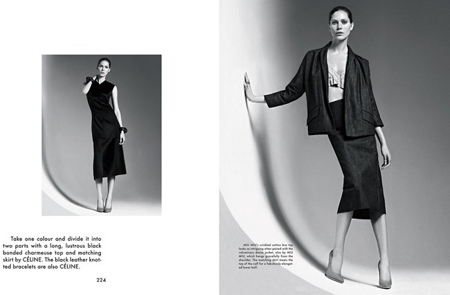 THE GENTLEWOMAN- Iselin Steiro in New Lady by Karim Sadli, Spring 2013, www.imageamplified.com, Image Amplified (2)