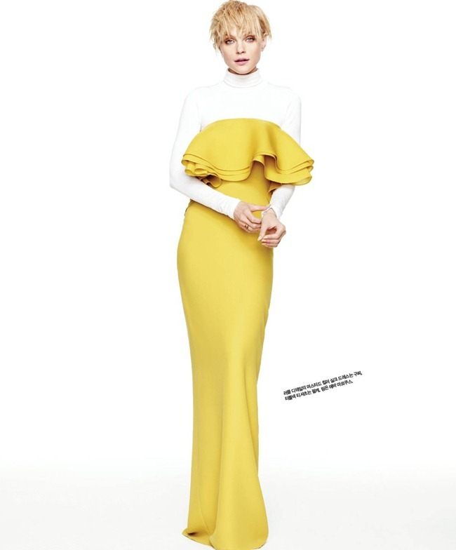SINGLES KOREA- jessica Stam in Brilliant Jessica! by Hong Jang Hyun. William Graper, March 2013, www.imageamplified.com, Image Amplified (1)