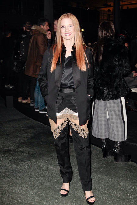 UPDATES/FRONT ROW: Givenchy Fall 2013 Ready-to-Wear