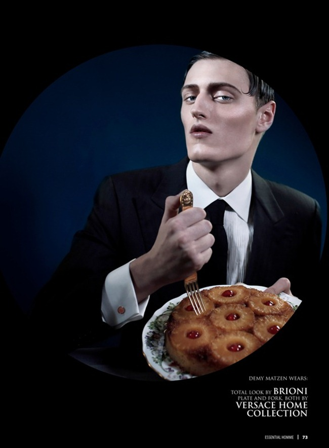ESSENTIAL HOMME- Saveurs des Hommes by Giovanni Squatriti. Gioele Panedda, www.imageamplified.com, IMage Amplified