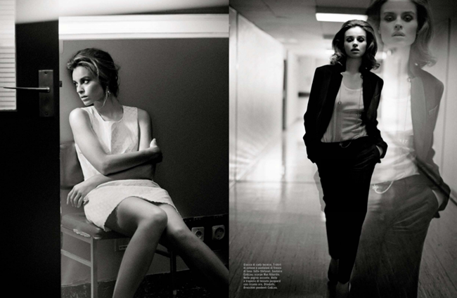 VOGUE ITALIA- Kasia Smutniak by Vincent Peters. March 2013, www.imageamplified.com, Image Amplified (3)