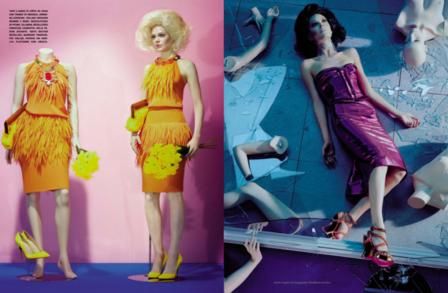 VOGUE ITALIA- Manequin Thriller by Miles Aldridge. March 2013, www.imageamplified.com, Image Amplified (4)