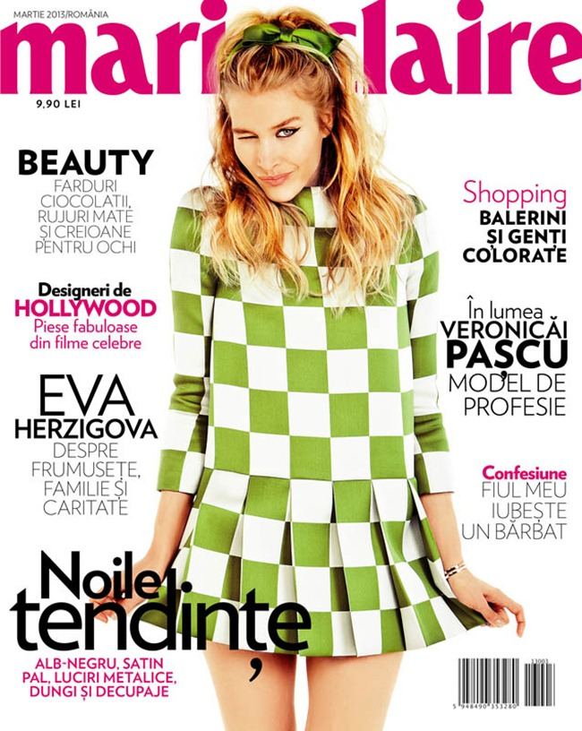 MARIE CLAIRE ROMANIA- Annemara Post by Tibi  Clenci. Spring 2013, Florence Deladriere, www.imageamplified.com, Image Amplified
