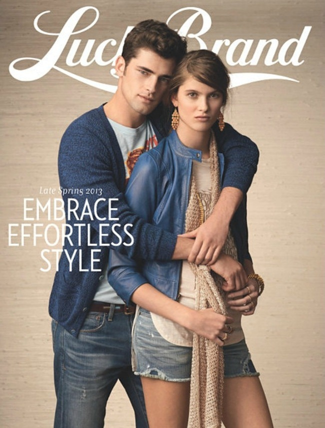 CAMPAIGN- Sean O'Pry for Lucky Brand Spring 2013. www.imageamplified.com, Image Amplified