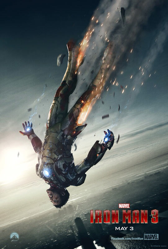 CINEMA SCAPE:Iron Man 3 by Shane Black Starring Robert Downey Jr. & Gwyneth Paltrow. In Theaters May 3, 2013