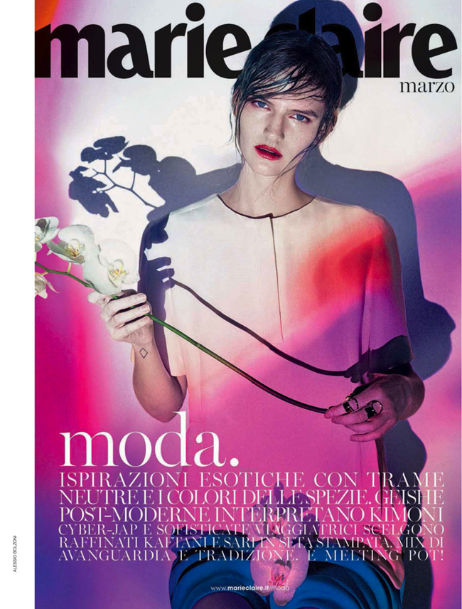 MARIE CLAIRE ITALIA- Sophie Hirschfelder in Cyber Jap by Thomas Krappitz. Monika Kropfitsch, March 2013, www.imageamplified.com, Image Amplified