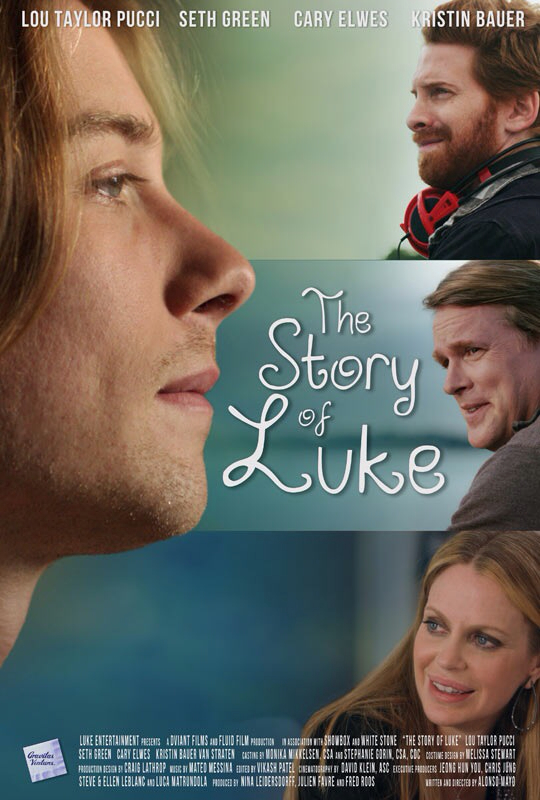 CINEMA SCAPE: The Story of Luke Starring Seth Green & Cary Elwes. In theaters April 5, 2013