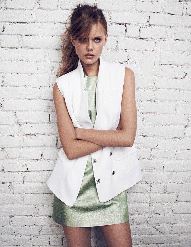 CAMPAIGN- Frida Gustavsson & Jacob Coupe for Tiger of Sweden Spring 2013 by Hasse Nielsen. www.imageamplified.com, Image Amplified (6)
