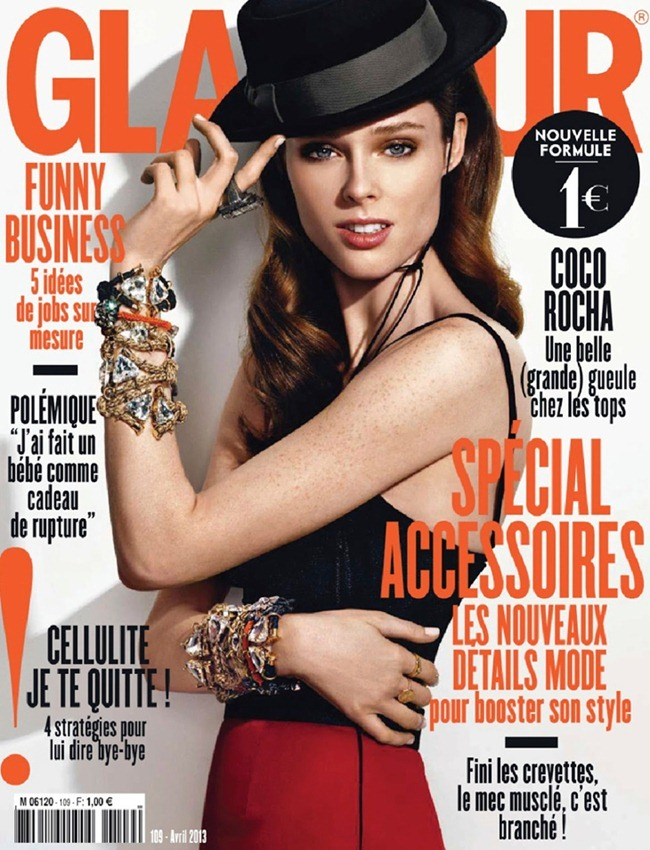 GLAMOUR FRANCE- Coco Rocha by Nico. Polina Aronova, April 2013, www.imageamplified.com, Image Amplified