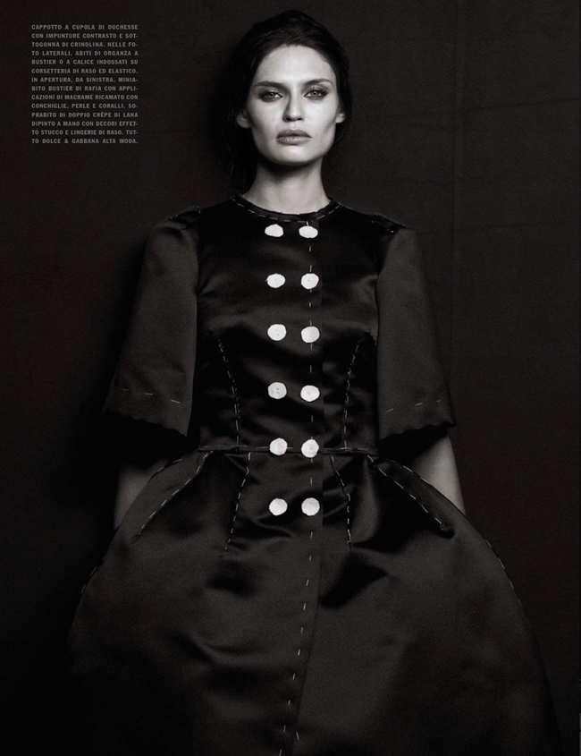 VOGUE ITALIA- Bianca Balti in Simply Classy by Peter Lindbergh. Sara Maino, March 2013, www.imageamplified.com, Image Amplified (3)
