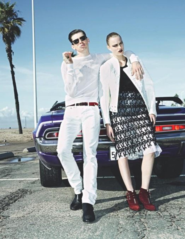 10 MAGAZINE- Kate Kondas, Milan Kruz & Cole Mohr in LA The Car Story by Frederike Helwig. Sophia Neophitou, Spring 2013, www.imageamplified.com, Image Amplified (7)