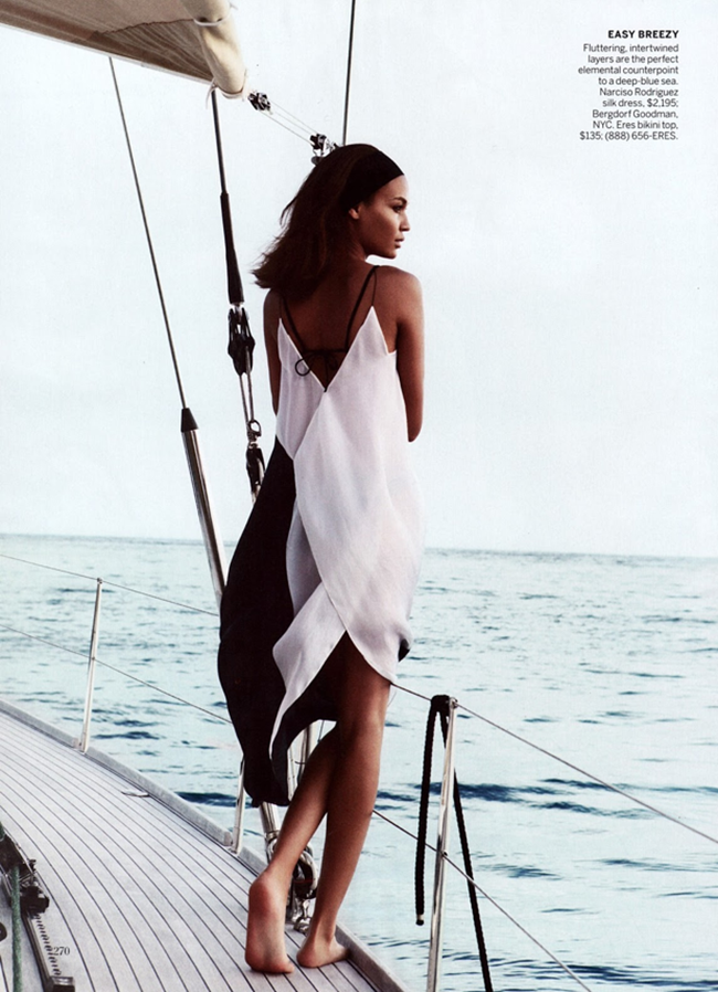 VOGUE MAGAZINE- Joan Smalls in Smooth Sailing by Patrick Demarchelier. Tonne Goodman, April 2013, www.imageamplified.com, Image Amplified (7)