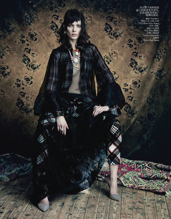 VOGUE CHINA- Saskia de Brauw, Stella Tennant, Kati Nescher & Yumi Lambert in The Charm of Diversity by Paolo Roversi. Nicoletta Santoro, April 2013, www.imageamplified.com, Image Amplified (2)