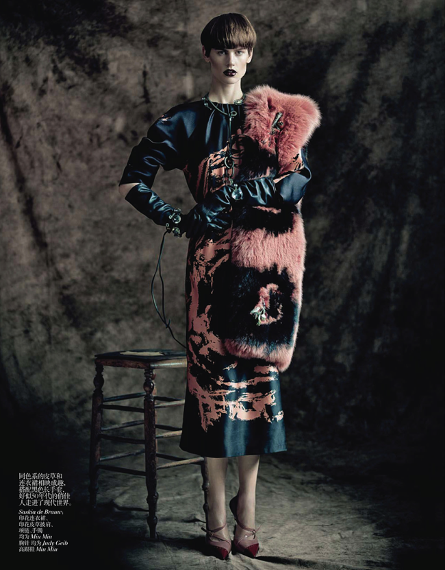 VOGUE CHINA- Saskia de Brauw, Stella Tennant, Kati Nescher & Yumi Lambert in The Charm of Diversity by Paolo Roversi. Nicoletta Santoro, April 2013, www.imageamplified.com, Image Amplified (4)
