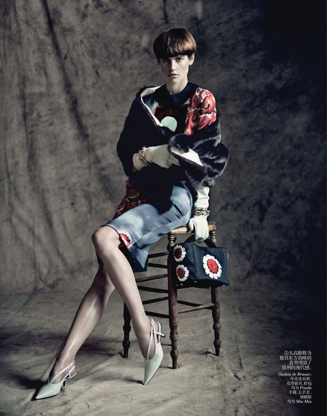 VOGUE CHINA- Saskia de Brauw, Stella Tennant, Kati Nescher & Yumi Lambert in The Charm of Diversity by Paolo Roversi. Nicoletta Santoro, April 2013, www.imageamplified.com, Image Amplified (5)