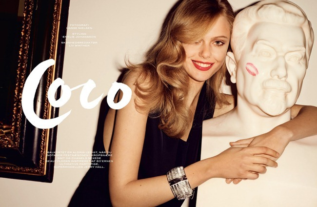 COVER MAGAZINE- Frida Gustavsson in Coco by Hasse Nielsen. Emelie Johansson, April 2013, www.imageamplified.com, Image Amplified